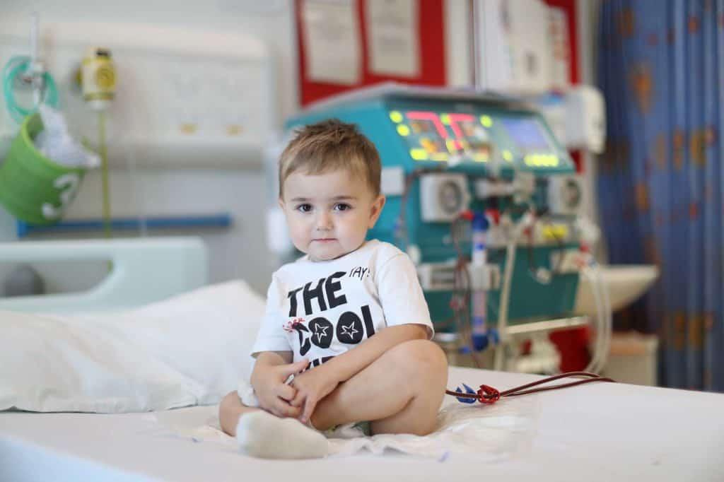 Child from Glasgow Childrens Hospital for GCHC