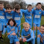 Youth football team sponsored by NIXON