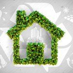 Descriptive picture of sustainable architecture